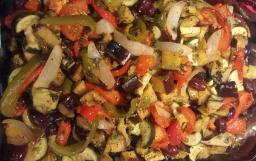 Briami – Greek Vegetable Casserole