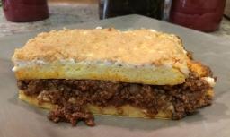 Low Carb Greek Lasagna